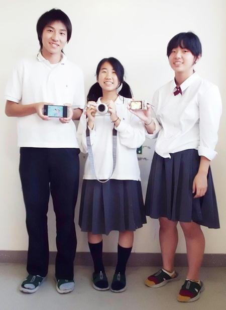 羽咋工業高等学校制服画像