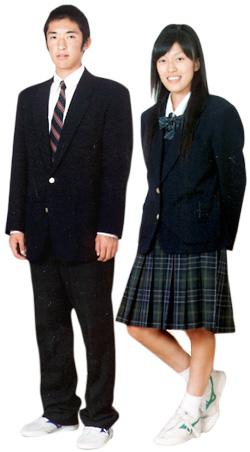 松任高等学校制服画像