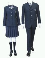 志賀高等学校制服画像