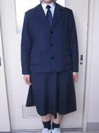 羽松高等学校制服画像